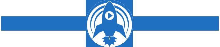 podcast blastoff logo